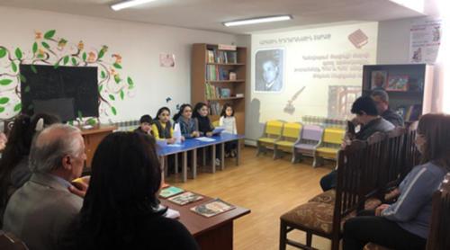 Հանդիպում Տավուշի մարզի գրող Թելման Մայիլյանի հետ